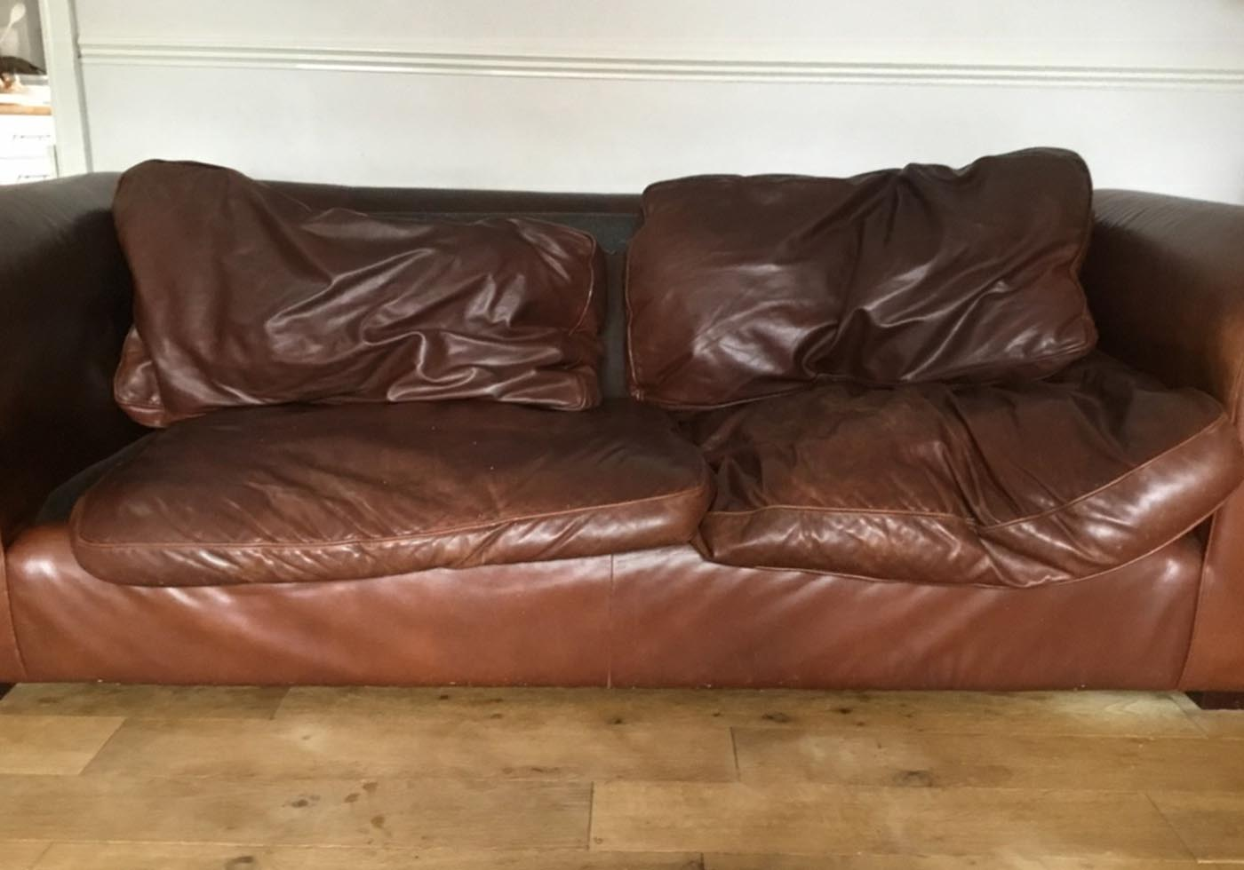 sagging sofa cushions