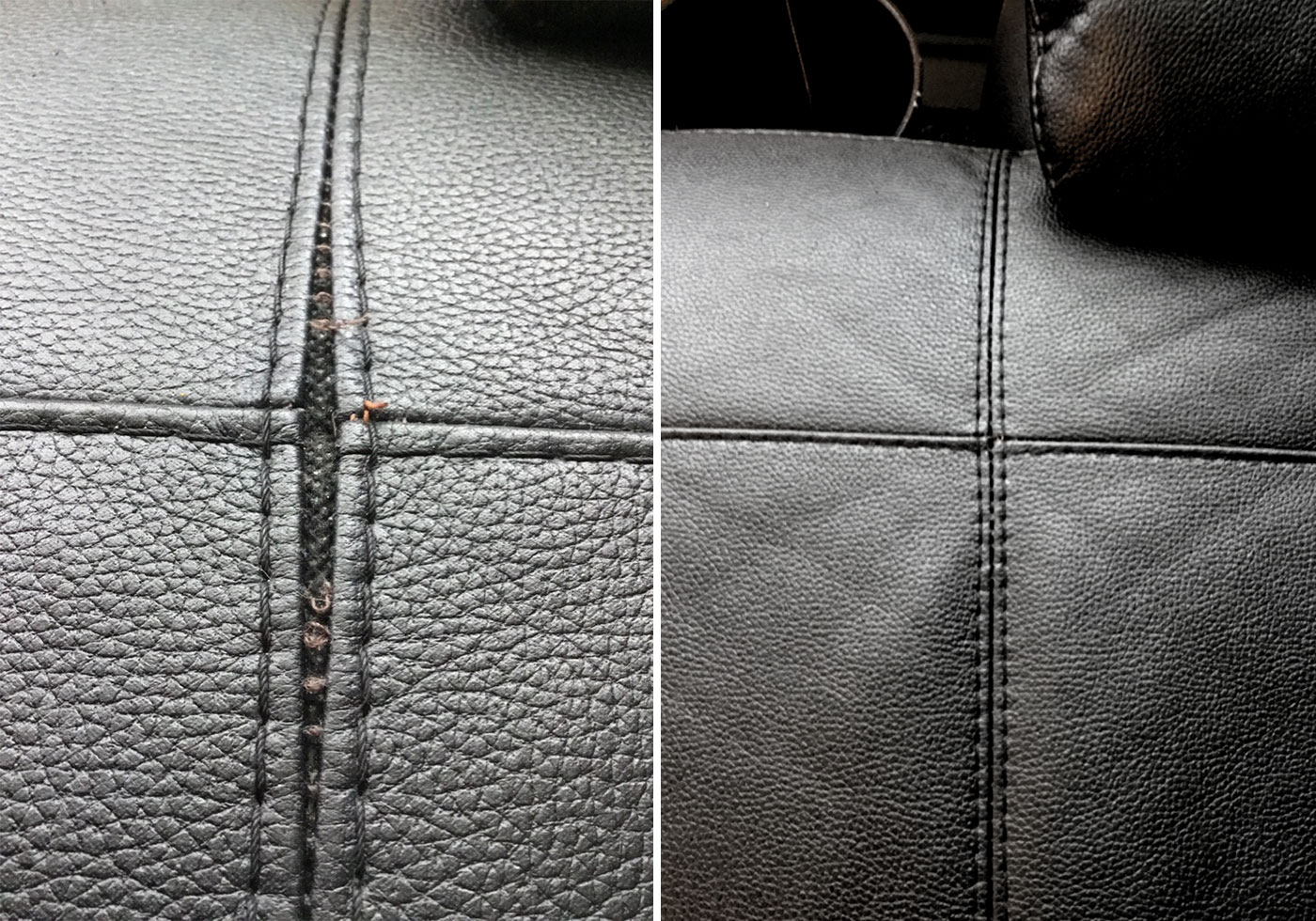 leather stitching repair
