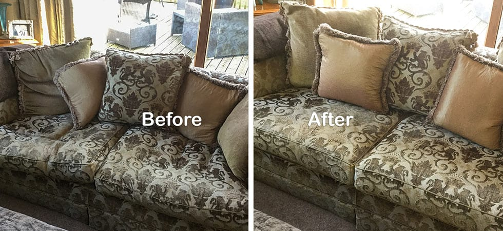 traditional fabric sofa cleaning
